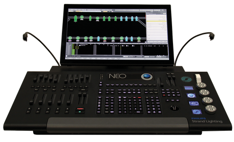 Strand NEO Lighting Control Console - Philips Entertainment