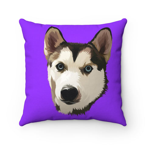 Custom Spun Polyester Square Pillow
