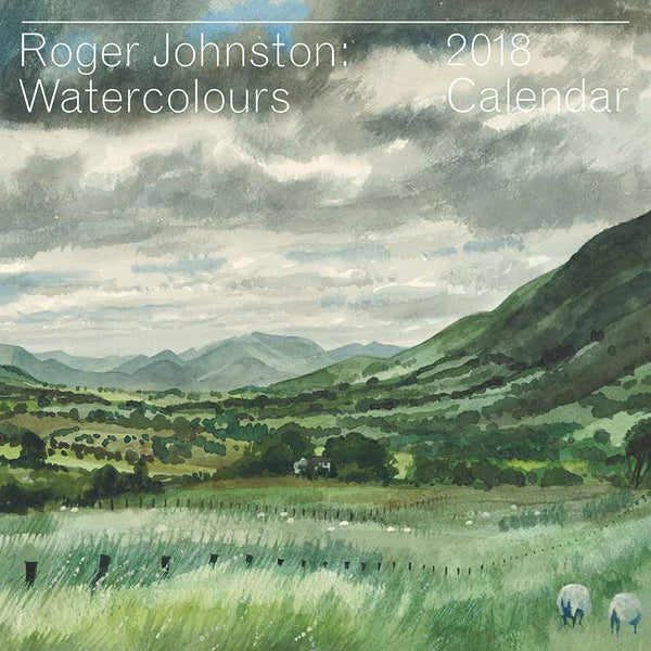 Roger Johnston: Watercolours / 2018 Calendar.