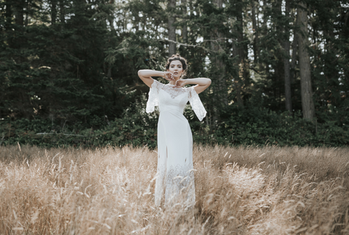 Mystic wedding gown by Lavictoire