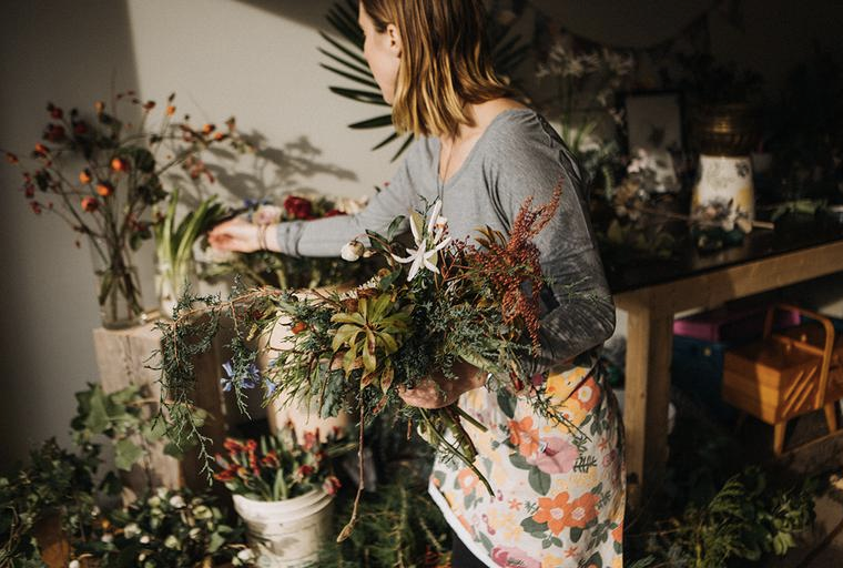 Flower fervor: Designing locally with Powell Floral