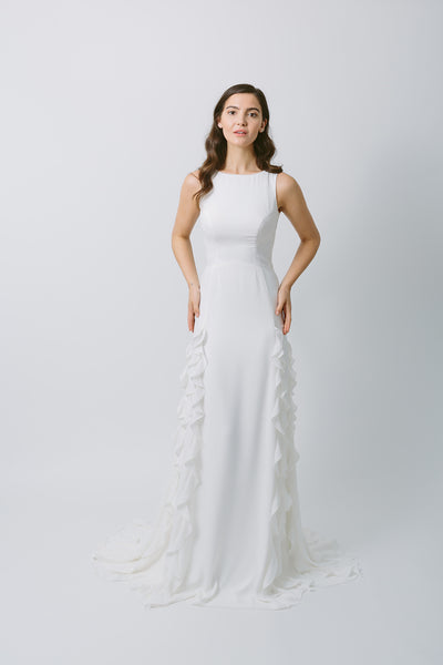 Lavictoire Astral wedding dress front