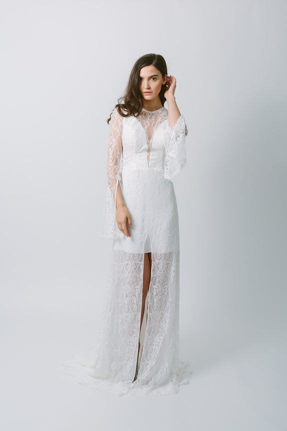 Lavictoire Texada wedding dress front