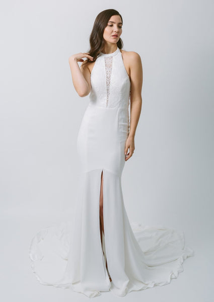Lavictoire Topaz wedding dress front