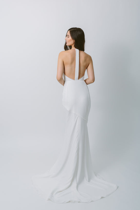 Lavictoire Solstice wedding dress back