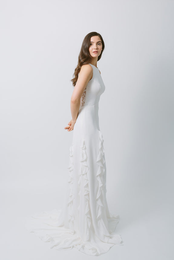 Lavictoire Astral wedding dress side
