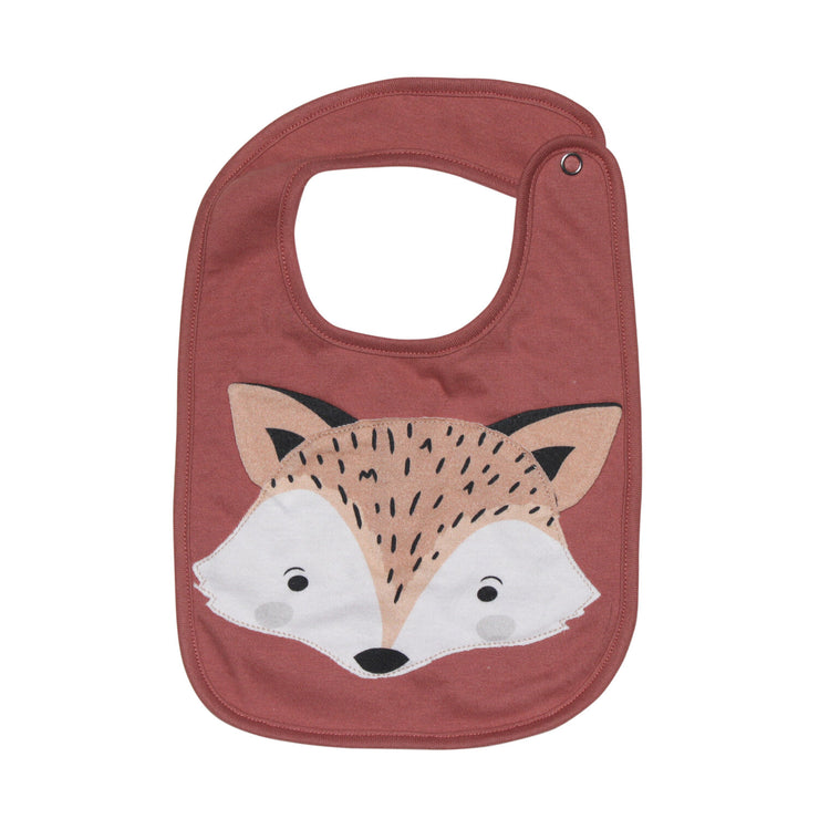 Fox Face Bib