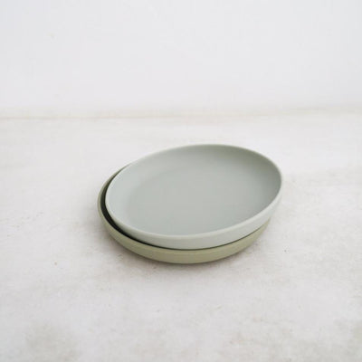 Silicone Plate Duo - Oyster/Cloud