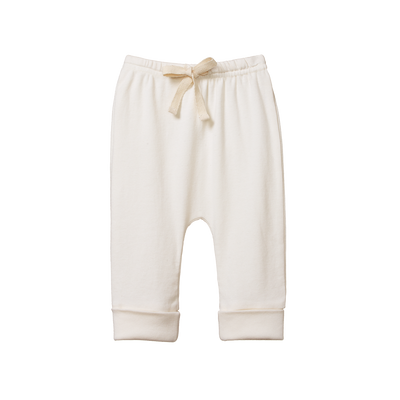 Drawstring Pants - Natural