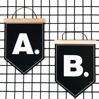 Alphabet Wall Banners