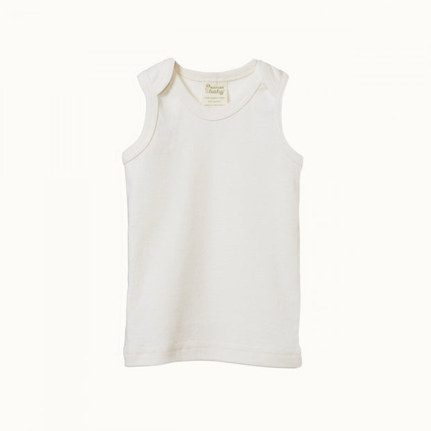 Cotton Singlet - Natural