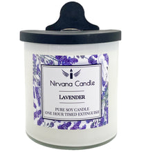 Lavender Automatic Candle. Our Smart Candle Self-Extinguishes after predetermined time - giving you the ultimate peace of mind!