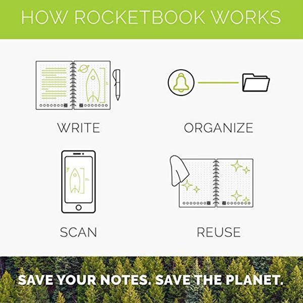 Magic Waterproof Reusable Notebook