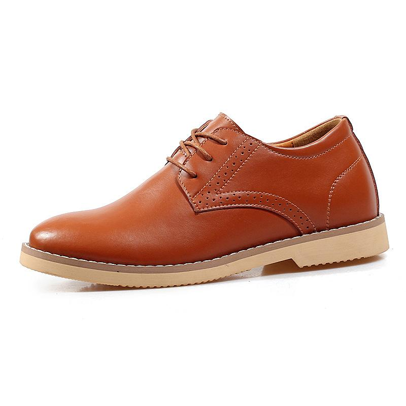 Autumn and Winter Warm Men's Casual Fashion Shoes British Shoes