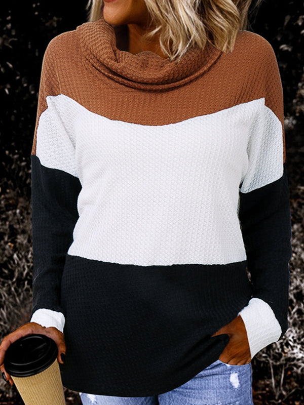 Long Sleeve Casual Stripes Sweater