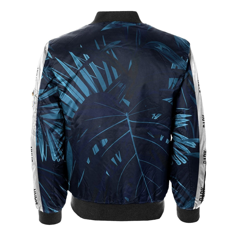 Jungle Dark Floral Bomber Jacket
