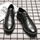 New Business Oxford Shoes Real Leather Breathable Men's Shoes