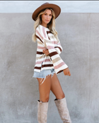 Striped Sweater Women Knitted Sweater