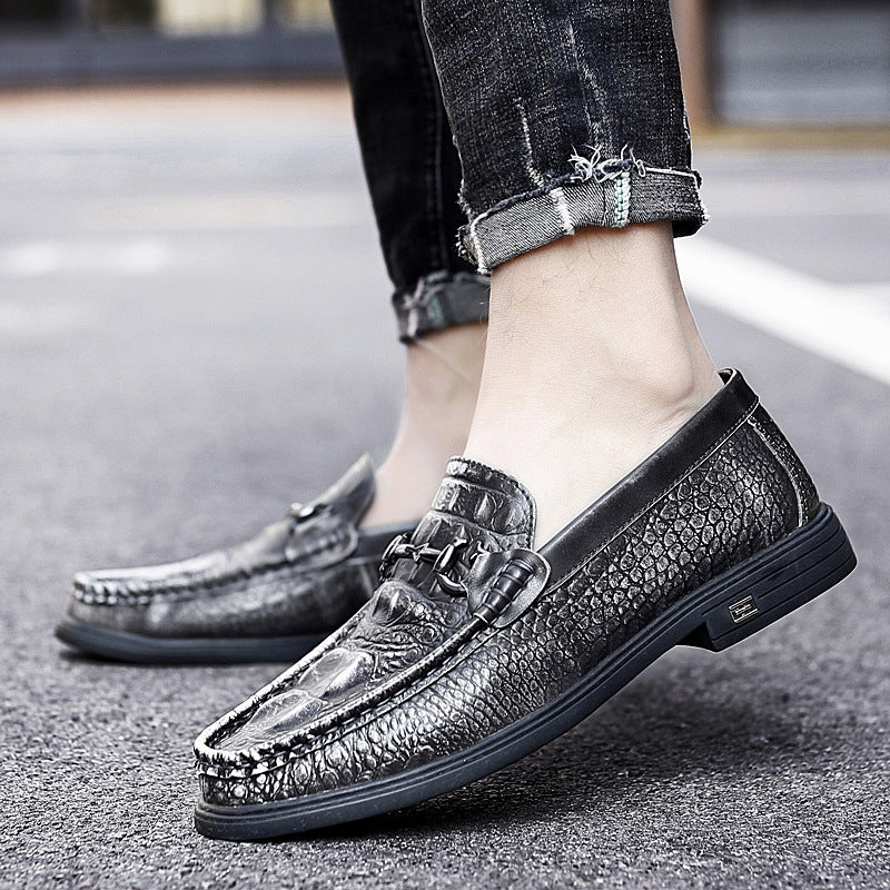 Men's Shoes New Leather Casual Shoes