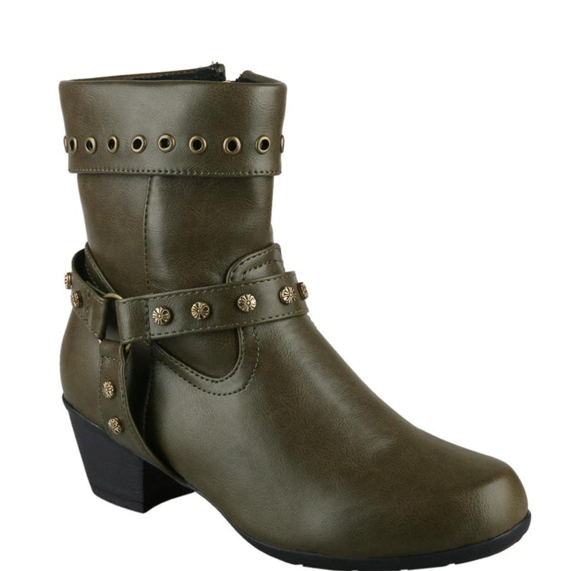 Retro Foreign Trade Rivet Boots Casual Booties