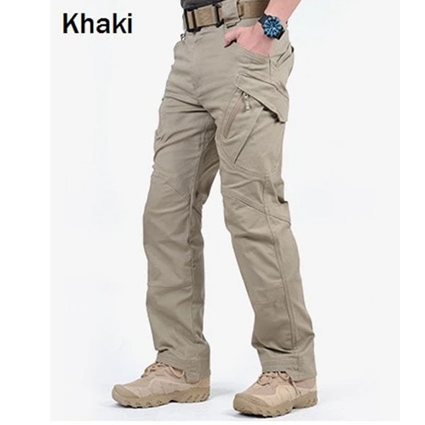 Men City Tactical Cargo Pants Combat  Army Military Pants Cotton Many Pockets Stretch Flexible Man Casual Trousers