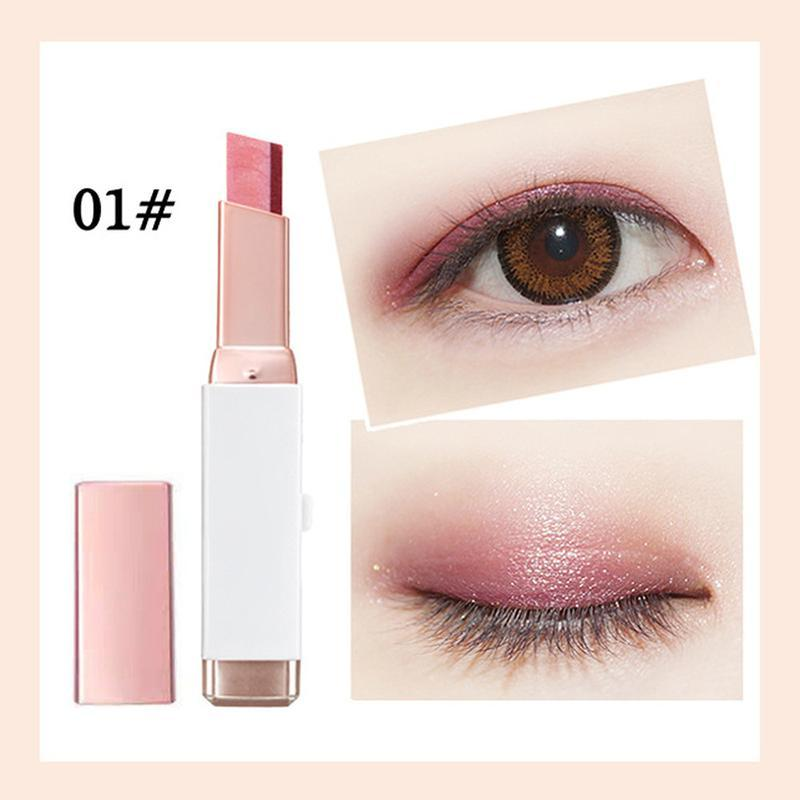 Two-color Shimmer Eyeshadow Stick