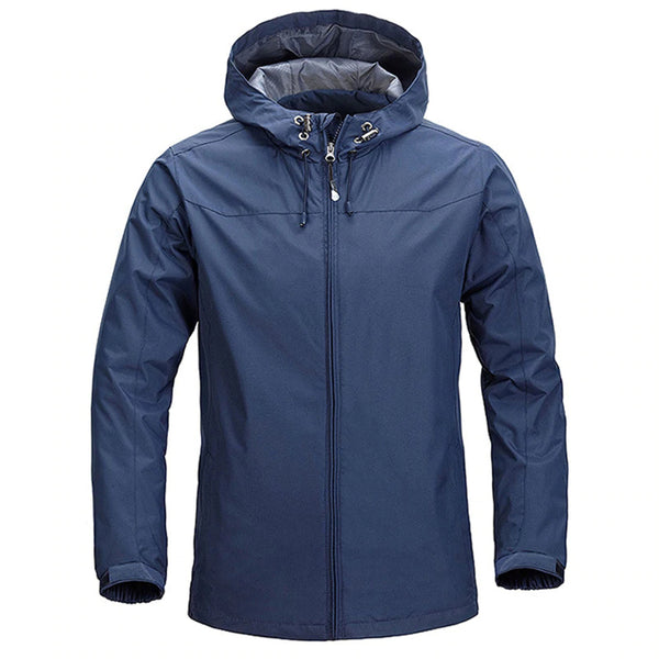 Men Windproof Waterproof Outwear Windbreaker Coat Casual Military Hoodies Jacket