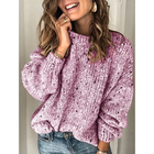 Casual Daily Long Sleeve Pullover Sweater