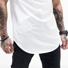 Mens muscle T shirt bodybuilding fitness men tops cotton singlets