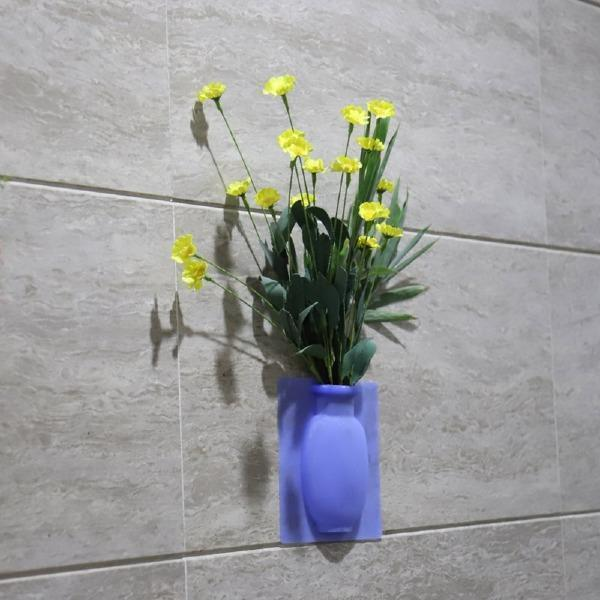 3Pcs Magic Wall Decor Plant Vases Flower Container