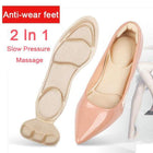 4D Free Cutting Self-adhesive Massage Insole
