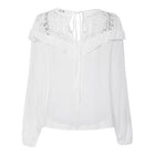 2019 Plus Size White Cotton Tunic Beach Thin Bell Sleeve Casual Loose Oversized Blouse Tops