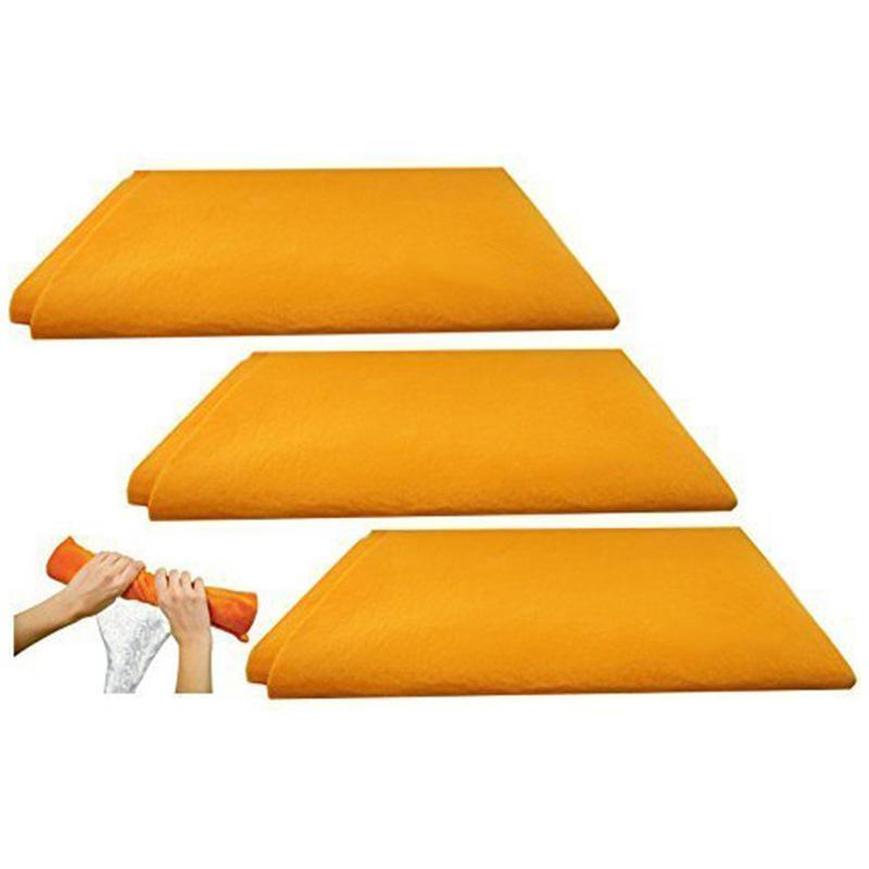 Super Absorbent Cleaning Shammy Towel(3 Pcs)