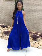 Women's Summer Fashion Sexy Pleated Dress