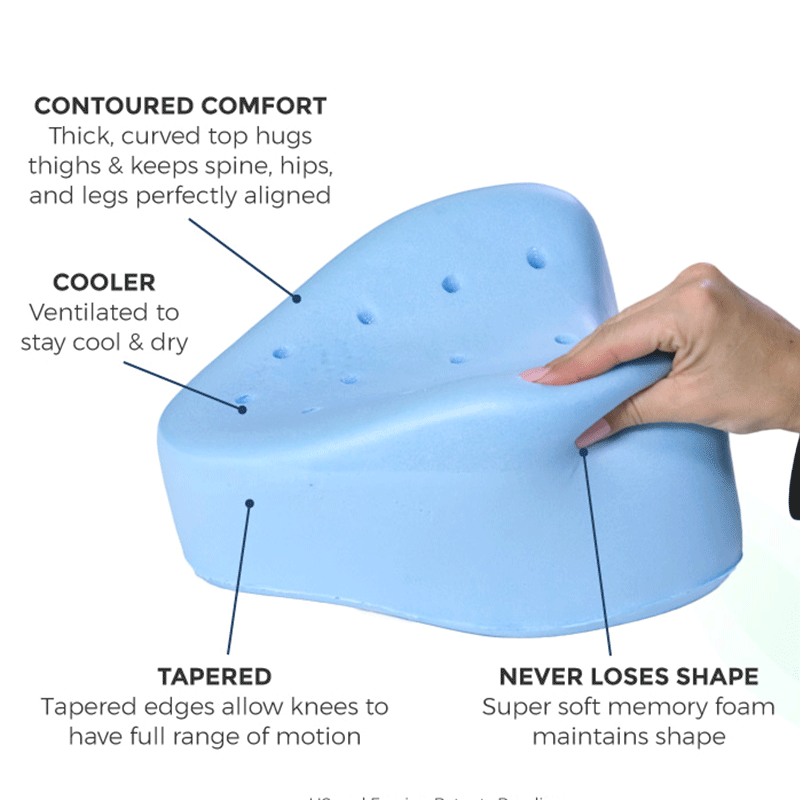 Triangle knee Pillow