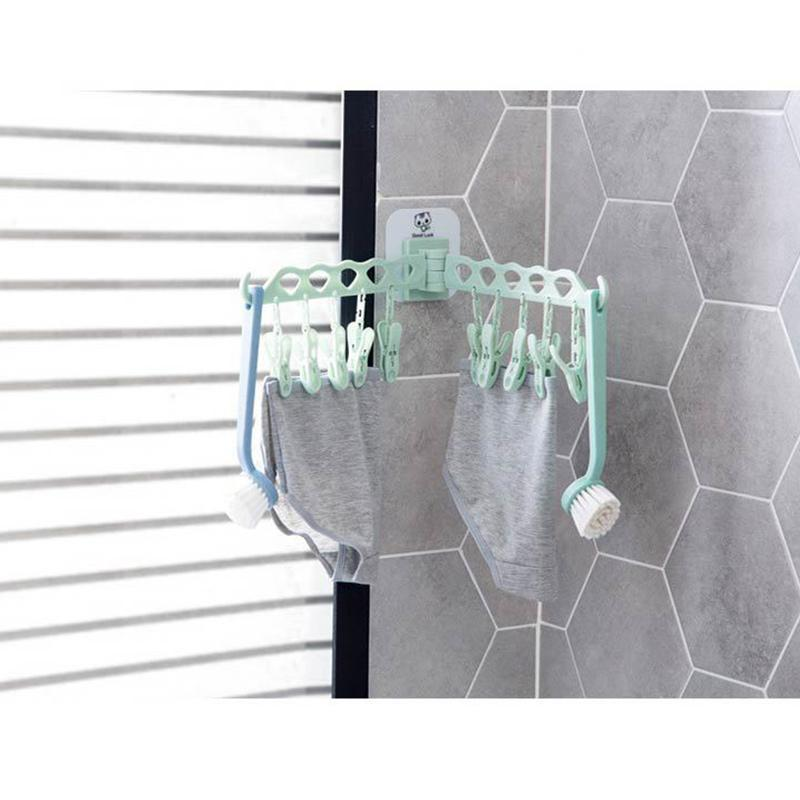 Foldable Hanging Hanger With Clip