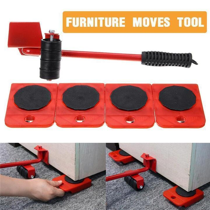 5 In 1 Moving Heavy Object Handling Tool