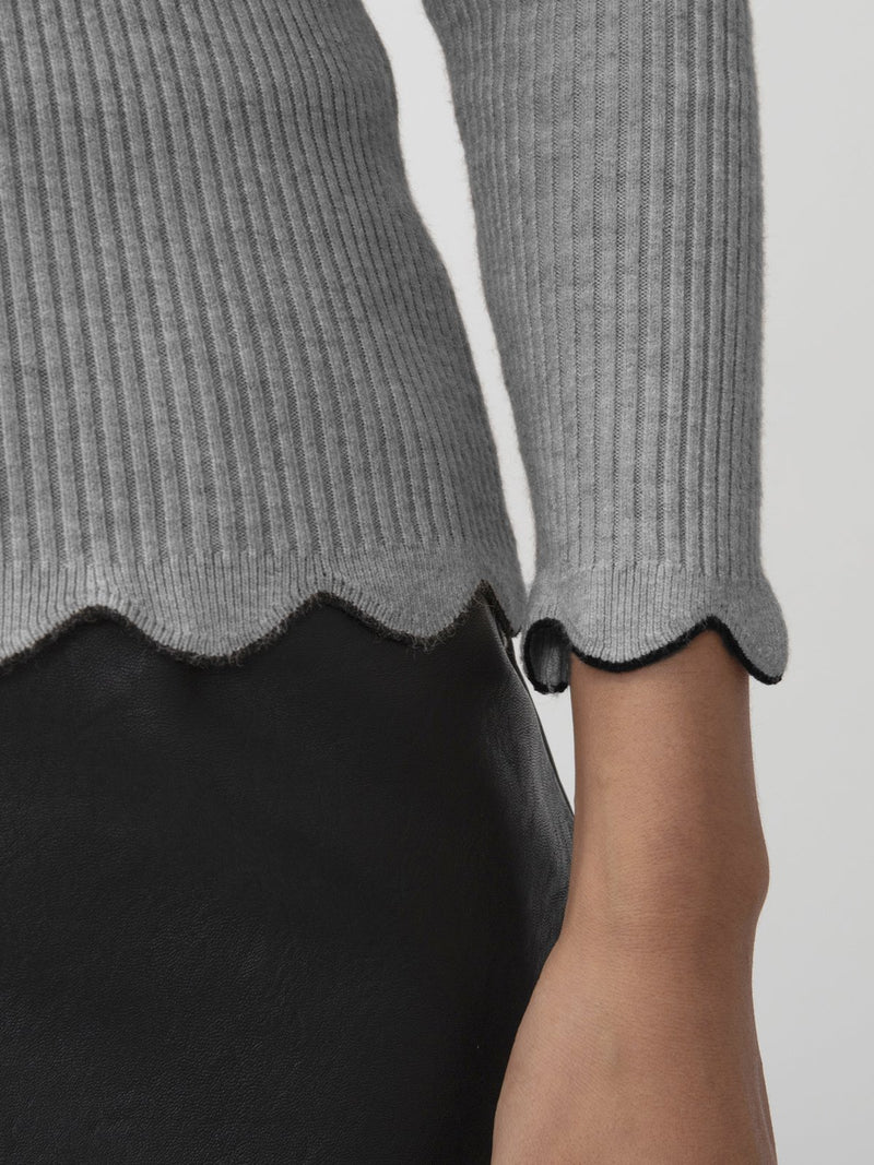 Khaki Cotton Sweater