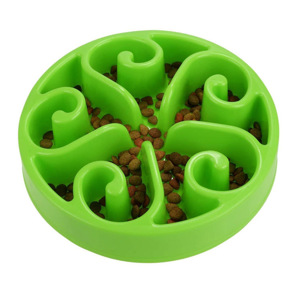 Anti-Choking Slow Feeding Pet Bowl