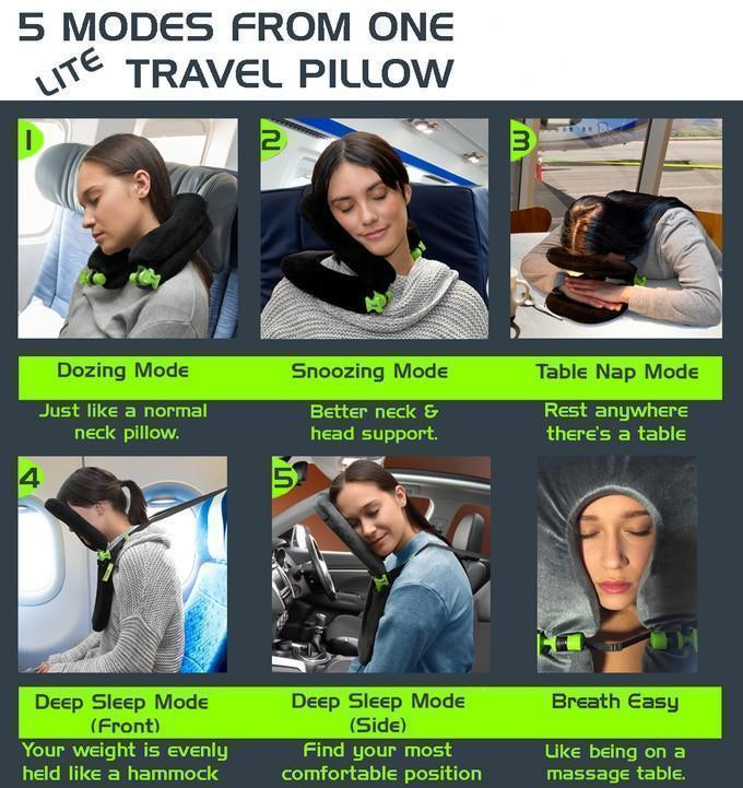 Foldable Pillow (5 Modes)