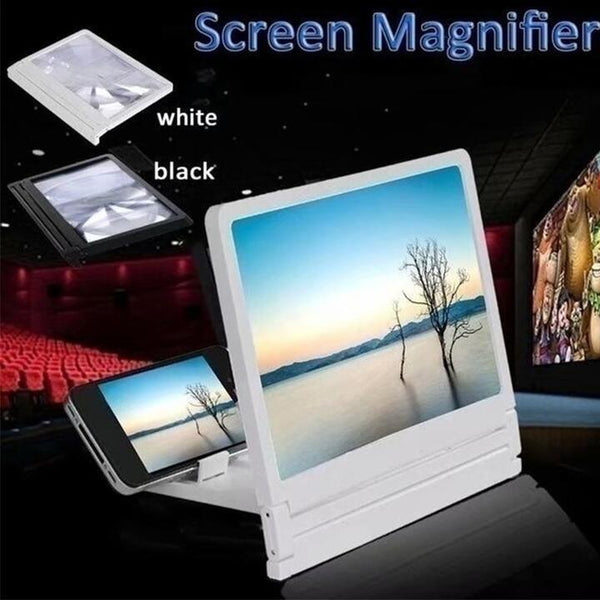 Eyes Protection 3D Video Mobile Phone Screen Magnifier