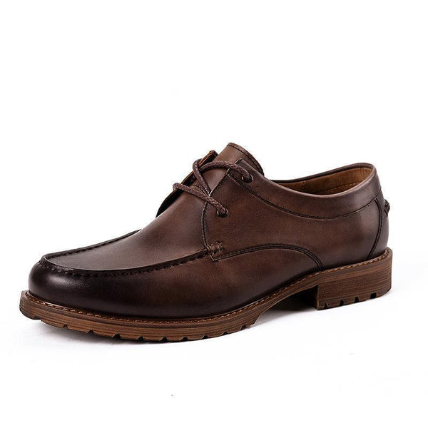 Men's Casual Lace-Up Derby Shoes