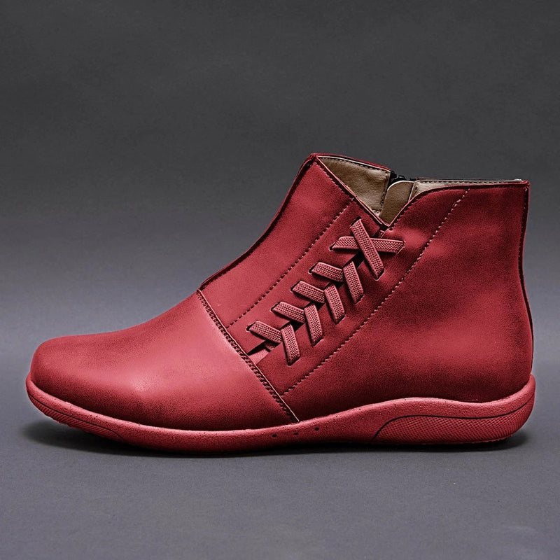 Casual Plus Size Warm Flat Boots
