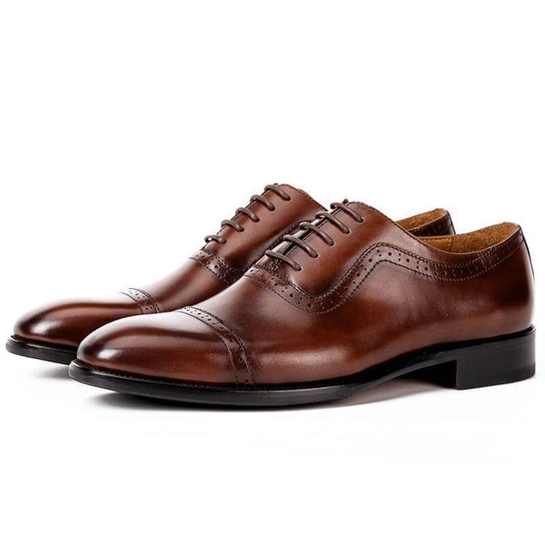 Men's Fashion Genuine Leather Brogue Shoes