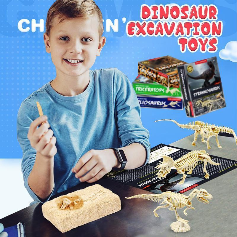 Simulation Dinosaur Excavation Toys
