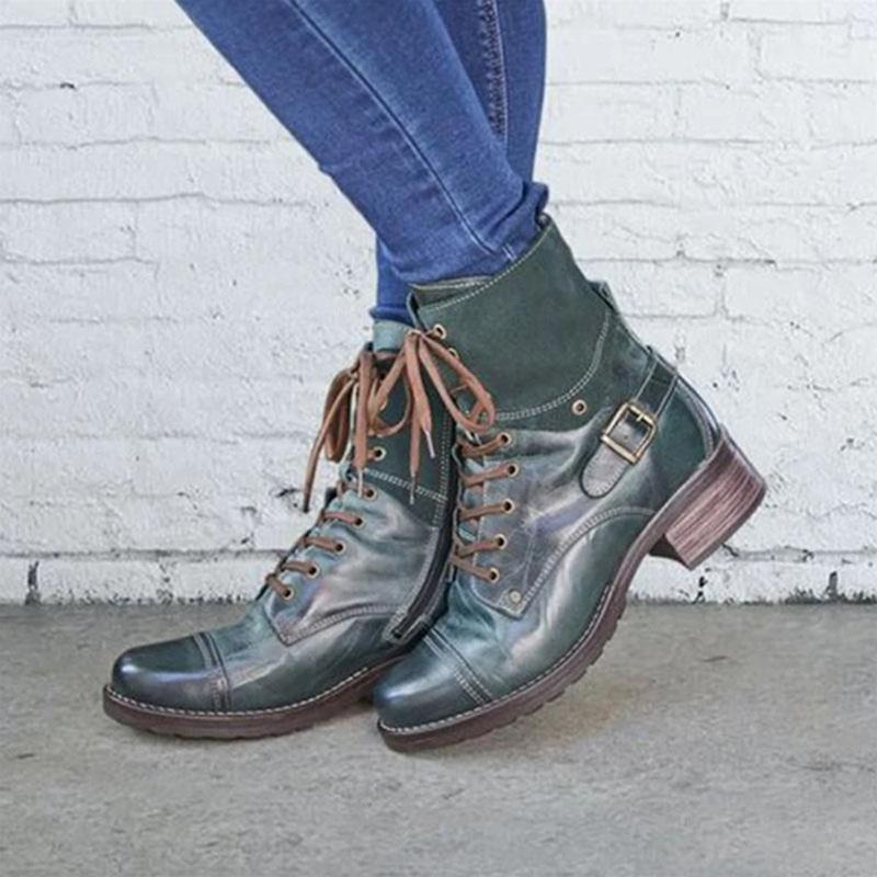 Women's Lace-Up Daily Ankle Boots