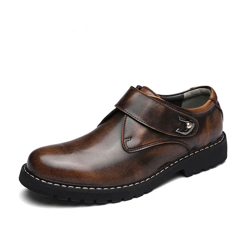 Men's Oxford Shoes Men Flats Fashion Genuine Leather Casual Men Shoes