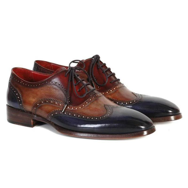 Wingtip Oxford Style Hand-painted  Brogues