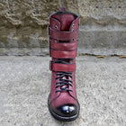Men's Retro Buckle Handmade Leather High Boots