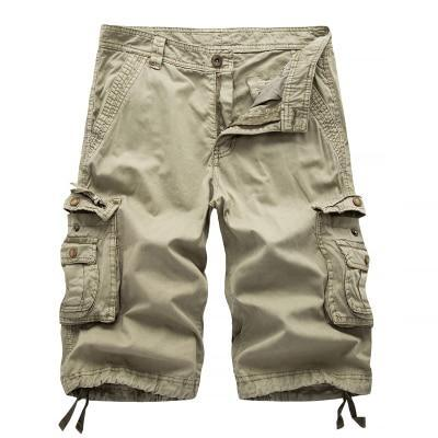 Men's Summer Cargo Shorts Army Military Tactical Multi-Pocket Shorts